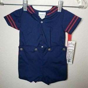 C.I. Castro & Co. Boy's 9 Month Old Sailor Outfit